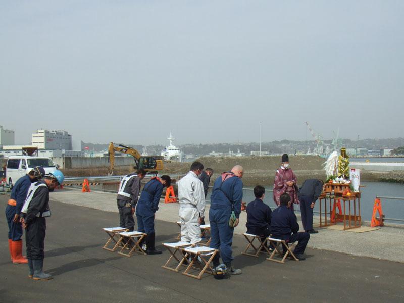 奥田建設㈱ 安全祈願祭